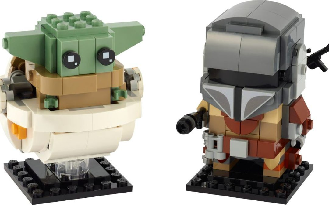 Everything you need to know about the Rebrick Challenge: Mandalorian & Child Brickheadz